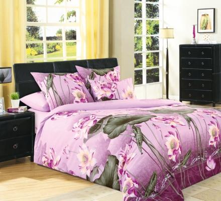 Изображение КПБ «Цветок лотоса (розовый)»