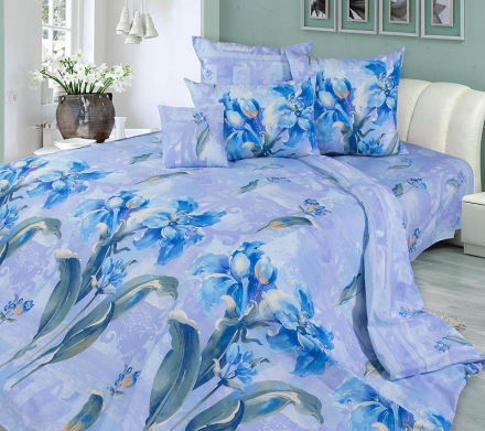 картинка КПБ «Мадина (голубой)»