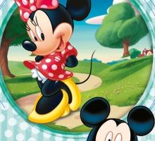 Изображение Полотенце «Микки в парке»