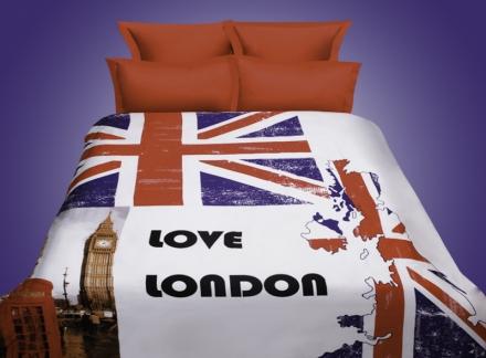 картинка КПБ «London 3D»