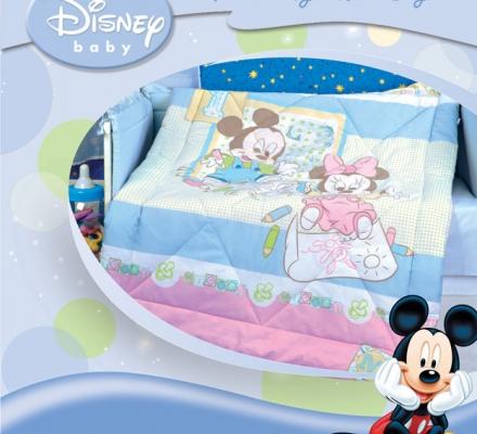 Изображение Одеяло «Микки и Мини» (зима)
