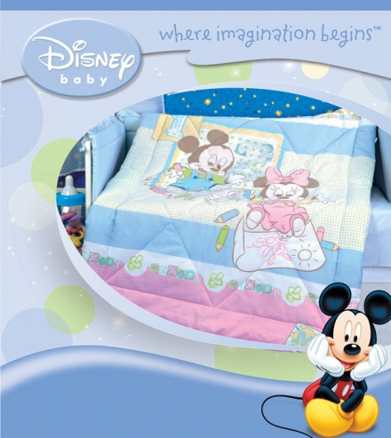 картинка Одеяло «Микки и Мини» (зима)