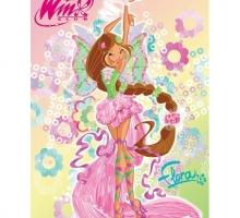 Изображение Плед флисовый «Winx Флора»