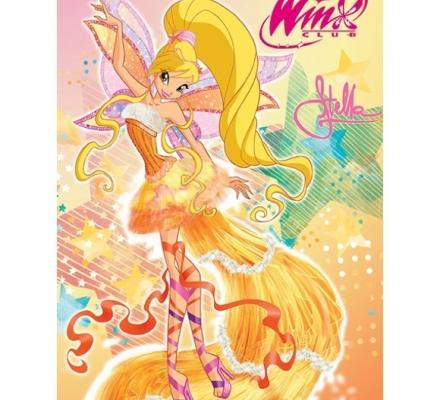 Изображение Плед флисовый «Winx Стелла»