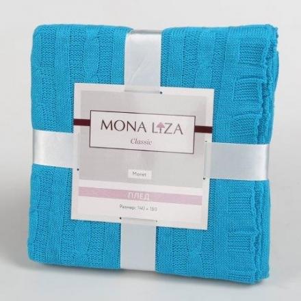 картинка Плед «Monet (голубой)»