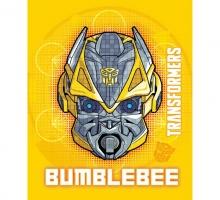 Изображение Плед флисовый «Transformers (Bumblebee)»