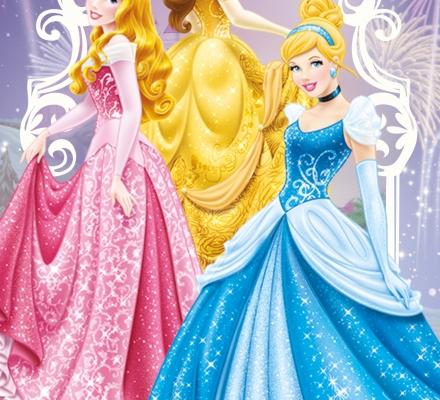 Изображение Полотенце «Принцессы на балу»