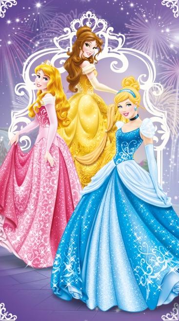 картинка Полотенце «Принцессы на балу»