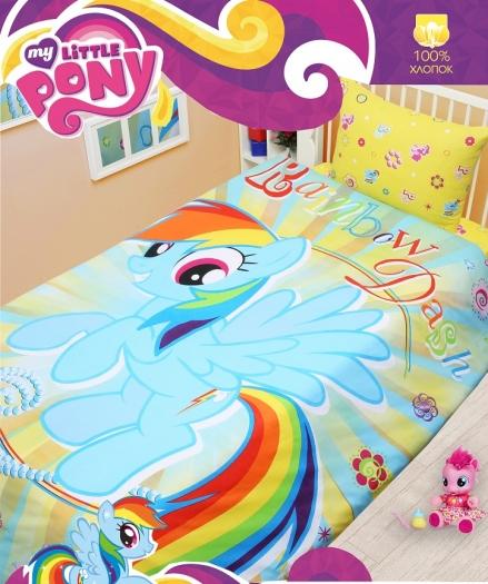 картинка КПБ «Rainbow Dash»