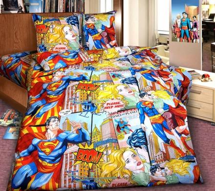 картинка КПБ «Супергерой»