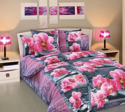 картинка КПБ «Дикая орхидея»