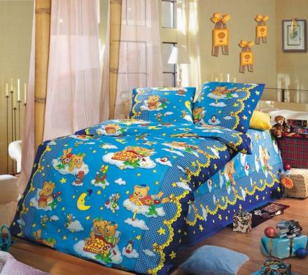 Изображение КПБ «Сладкий сон (голубой)»
