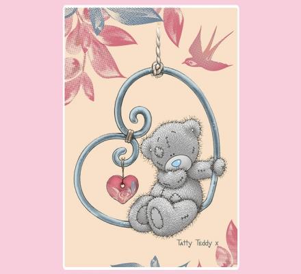 Изображение Полотенце «Teddy с сердцем»