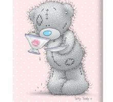Изображение Полотенце «Teddy с чаем»