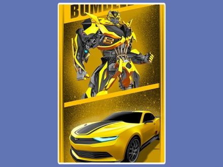 картинка Полотенце «Transformers (Bumblebee)»