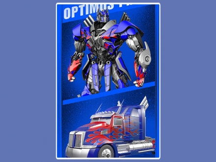 картинка Полотенце «Transformers (Prime)»