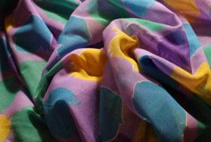 Изображение ткани ситец